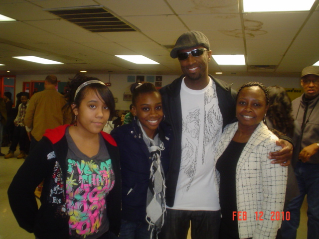 L-R: Ashton, Rumill, Rickey Smiley & Milli